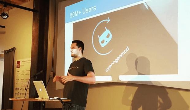 Softwarový inženýr Adnan Begovic uvedl, že Cyanogen již používá více než padesát milionů uživatelů.