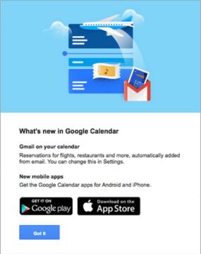 Co je nového v Kalendáři Google?