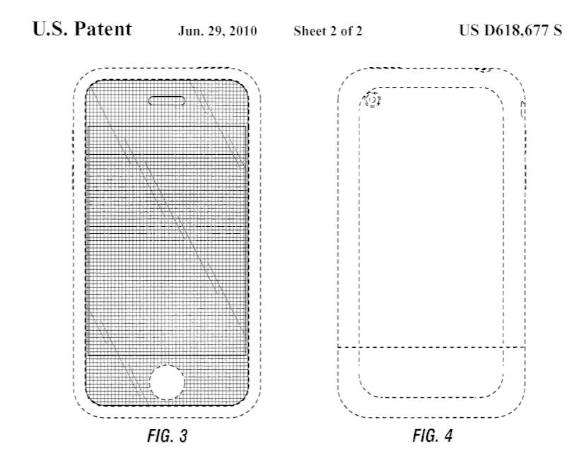 Klíčový patent Applu