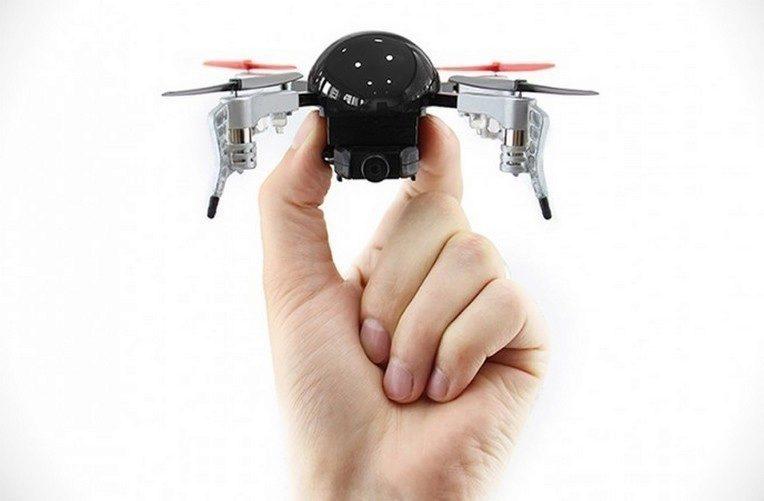 micro drone 3 hlavni