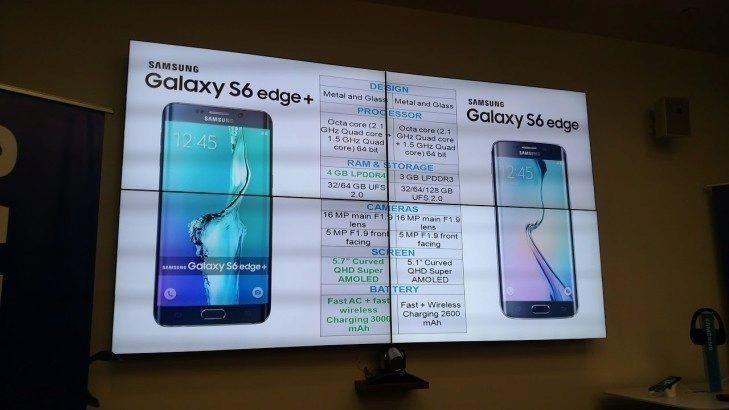 samsung galaxy s6 edge+ rozdíly