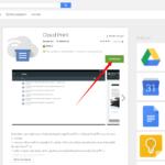 Instalace aplikace Cloud Print z Obchodu Play