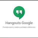 Prezentace vlastností webové verze Hangouts