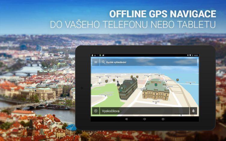 NACESTY je offline GPS navigace