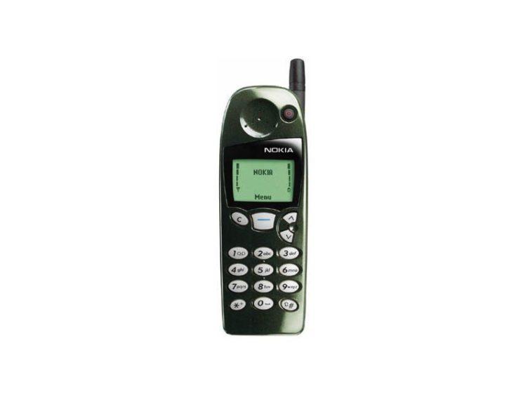 Typickým mobilem minulosti s hardwarovou klávesnicí je Nokia 5110