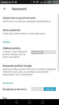 Android pro začátečníky 12 –  Fotky Google (1)