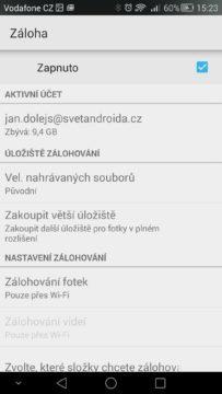 Android pro začátečníky 12 –  Fotky Google (2)