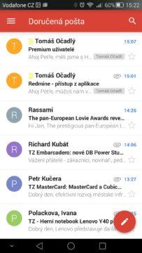 Android pro začátečníky 12 –  gmail (2)