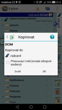 Android pro začátečníky – X-Plore (2)