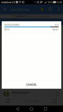 Android pro začátečníky –  app backup (2)