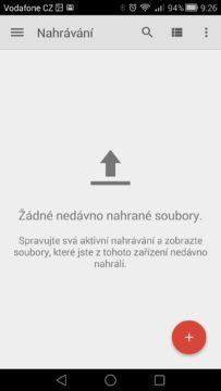 Android pro začátečníky –  google drive (2)