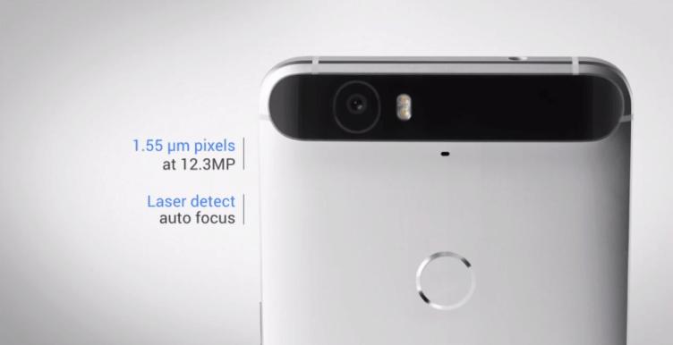 Nexus 6P fotoaparát