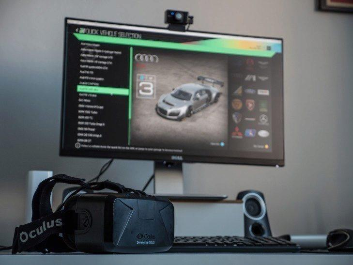 Oculus project Cars