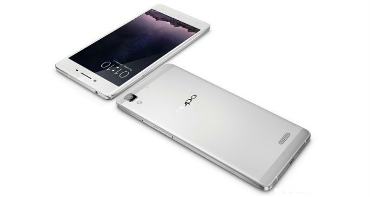 Oppo R7 silver