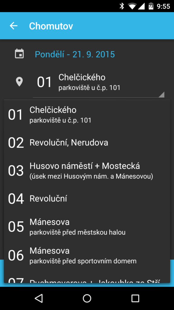 SMS ParkovaCzech Screenshot (1)