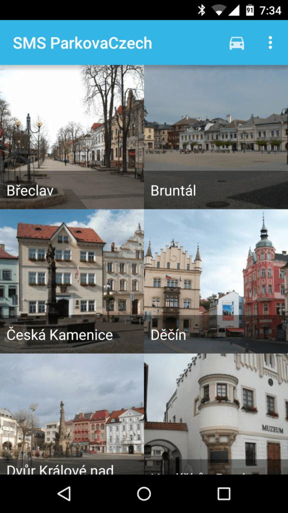 SMS ParkovaCzech Screenshot (2)