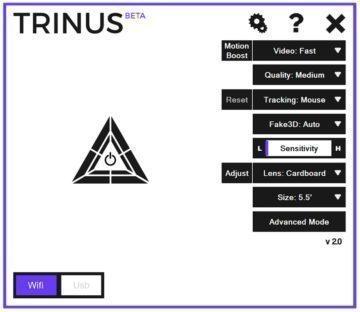 Cardboard - TrinusVR-PC_App