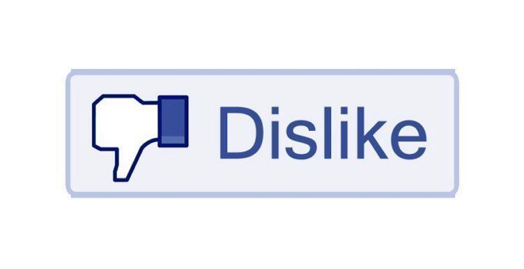 Facebook chystá tlačítko To se mi nelíbí