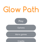 glowpath minimalisticka hra