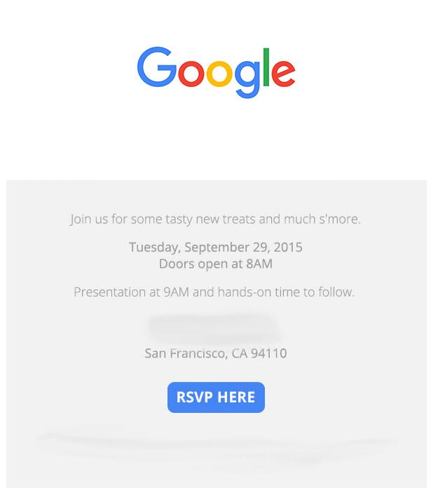 google pozvánky