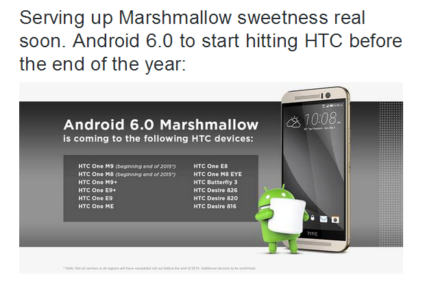 Jason Mackenzie oznamuje aktualizace HTC na Android 6.0