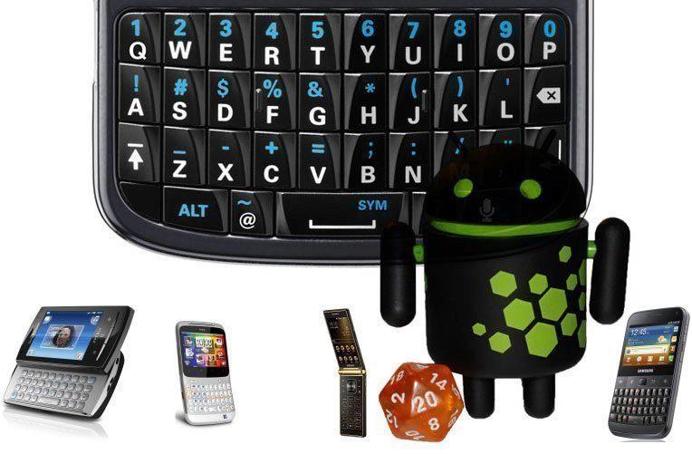 Naši čtenáři chtějí Androida s hardwarovou klávesnicí