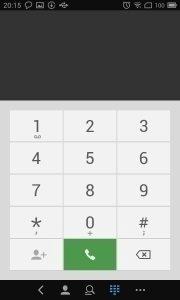 Meizu MX3 - dialer a kontakty (1)