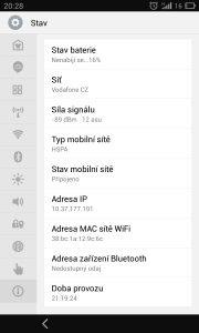 Meizu MX3 - výdrž běžné používání