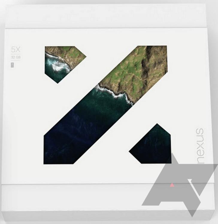 Krabička telefonu LG Nexus 5X