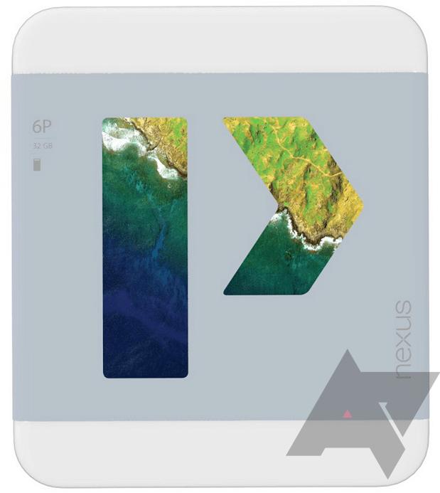 Krabička telefonu Huawei Nexus 6P