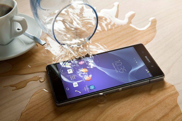 Sony Xperia Z2 - IP certifikace