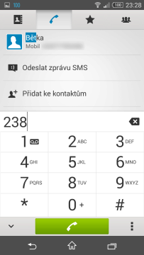 Sony Xperia Z3 Compact - t9 dialer