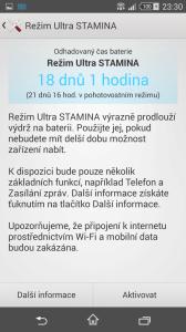 Sony Xperia Z3 Compact - úsporný režim STAMINA (1)