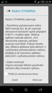 Sony Xperia Z3 Compact - úsporný režim STAMINA (2)