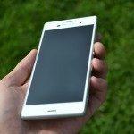 Sony Xperia Z3 – přední strana telefonu (1)