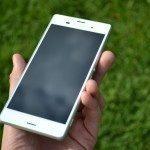 Sony Xperia Z3 – přední strana telefonu (5)