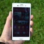 Sony Xperia Z3 – přední strana telefonu (7)