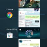 Sony Xperia Z3 – prostředí systému Android 4.4.4 (10)