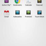Sony Xperia Z3 – prostředí systému Android 4.4.4 (11)
