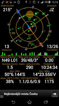 Sony Xperia Z3 -síla signálu GPS