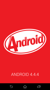 Sony Xperia Z3 - systém Android 4.4.4 (1)