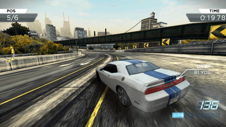 Ani s druhým závodním titulem Need for Speed: Most Wanted jsme neměli problémy