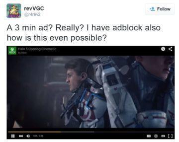 Uživatel s rozšířením AdBlock musel sledovat reklamu několik minut