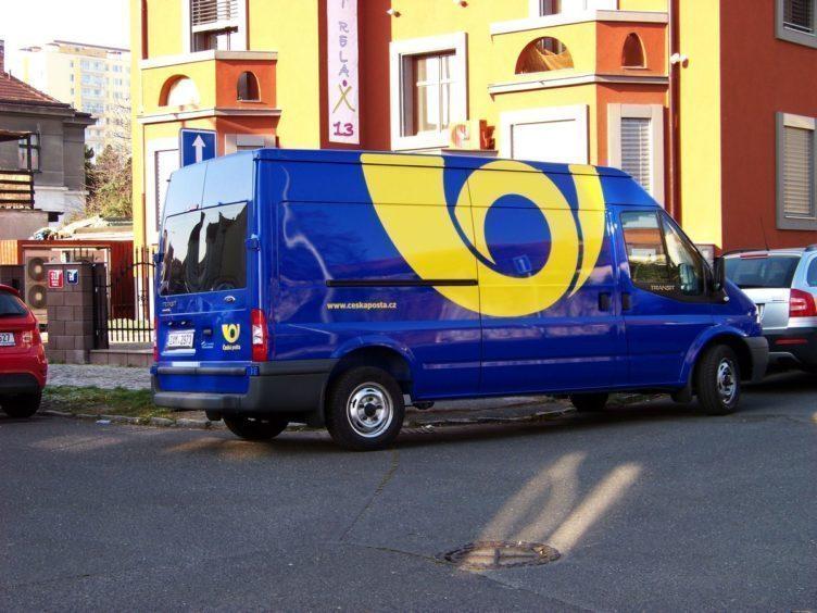 česká pošta auto