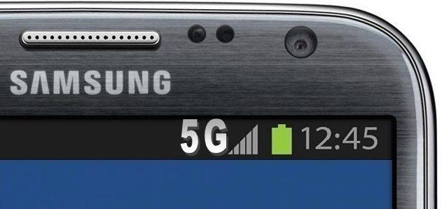 5G připojení samsung