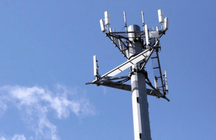 5G věž připojení