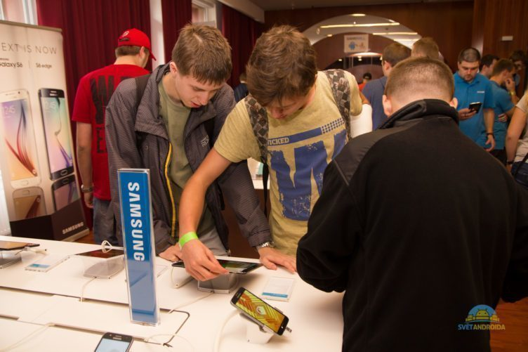 Alza Android RoadShow 2015 Ostrava - Samsung