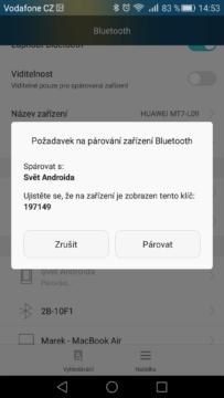 Android pro začátečníky – Bluetooth (2)