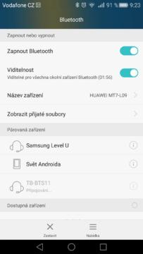 Android pro začátečníky - Bluetooth (5)