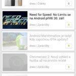 Aplikace Svět Androida (2)